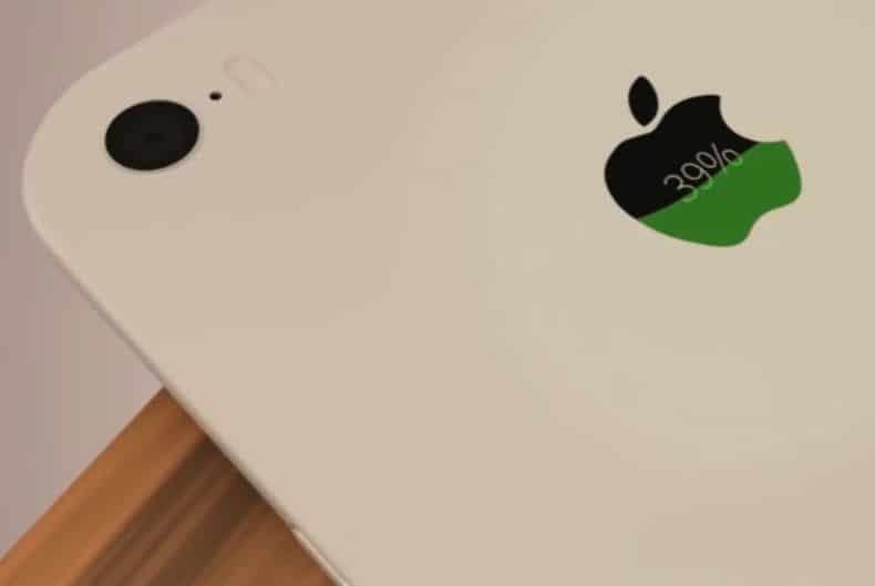 iPhone8 サブディスプレイ