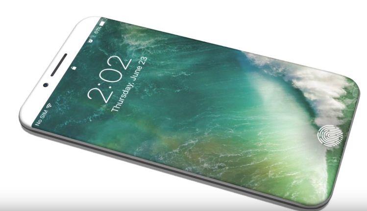 iPhone8 コンセプト画像