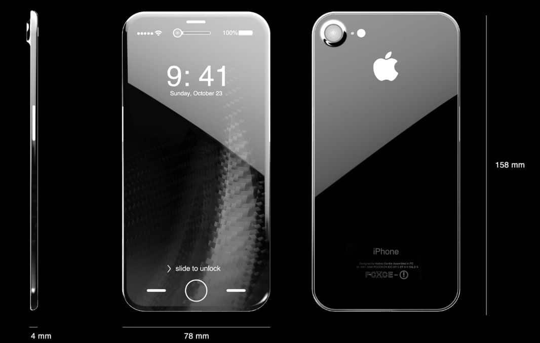 iPhone8 サファイアガラス