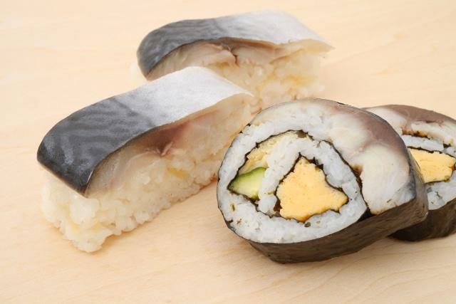 しめ鯖、さば寿司